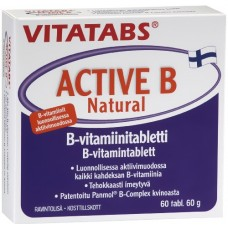 Vitatabs Active B Natural 60tbl