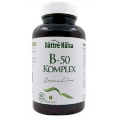 Metyyli B-50 Komplex 100kps Bättre Hälsa