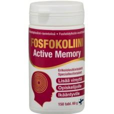 Fosfokoliini Active Memory 150tbl