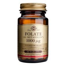 Folaatti (Metafolin) 1000mcg 60tbl
