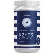 K2+D3-Vitamiini pitkävaikutteinen 60tbl