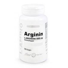 L-Arginiini 500mg 50kps