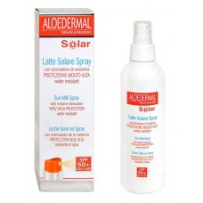 Aurinkosuihke Aloedermal Solar Sun Milk Spray 50+ SPF 150ml