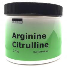Arginiini-Sitrulliini 270g Nordicvita