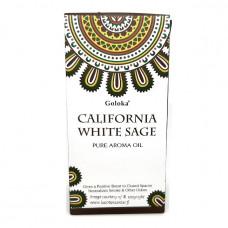 White Sage (valkoinen salvia) California tuoksuöljy 10ml