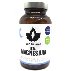 Ilta Magnesium 120kaps Puhdistamo