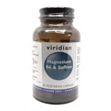 Viridian Magnesium, B6 & Saffron 60kaps