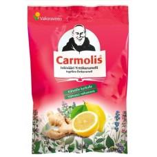 Carmolis Yrttikaramelli Inkivääri  72g