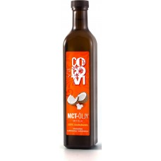 MCT-öljy 100 pros. 500ml Cocovi