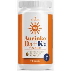 AurinkoD3+K2 90kps