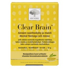 Clear Brain 60tbl