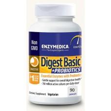 Digest Basic entsyymi+probiootit  90 kps Enzymedica