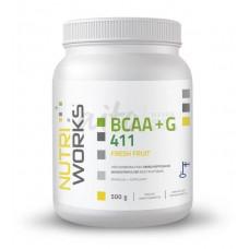Nutri Works BCAA-jauhe+G Hedelmä 500g