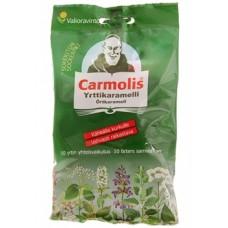 Carmolis yrttikaramelli sokeriton 75g