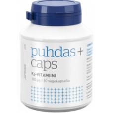 Puhdas+ K2-Vitamiini 100mcg 60kps