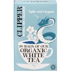 Clipper valkoinen tee luomu 26bgs