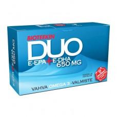 Bioteekin Duo E-Epa DHA 650 mg 15 kaps