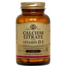 Calcium Citrate 60tbl Solgar