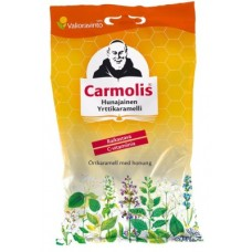 Carmolis hunajainen yrttikaramelli 72g