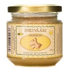 Hunaja Inkivääri Pesosen Mehiläistarhat 250g