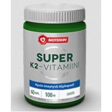 Bioteekin Super K2-vitam. 100mcg 60kps