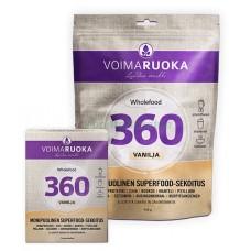 Voimaruoka Wholefood 360 vanilja 908g