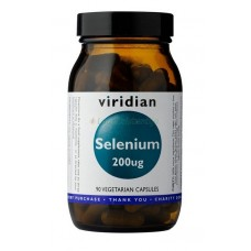 Viridian Selenium Seleeni 200mcg 90kps