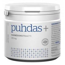 Puhdas+ Magnesium Sitraattijauhe 250mg 200g