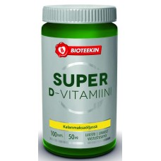 Bioteekin Super D 100+25kps