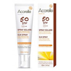 Aurinkosuojaspray Acorelle SPF 50 100ml