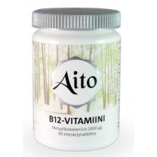 Aito B12vitamiini metyylikobalamiini 1000mcg 90tbl
