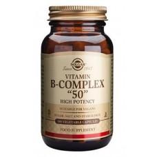 B-complex 50 mg (50 kaps.) Solgar