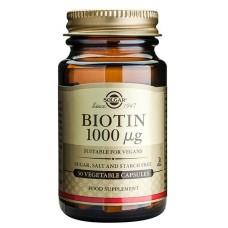 Biotiini 1000 ug 50 kaps Solgar