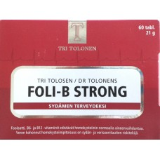 Foli-B Strong 60tbl Tri Tolosen