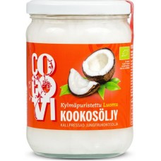 Kookosöljy kylmäpuristettu 0.5 L Cocovi