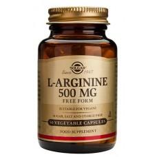 L-Arginine 500 mg 50kps Solgar