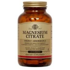 Magnesiumsitraatti 120tbl Solgar