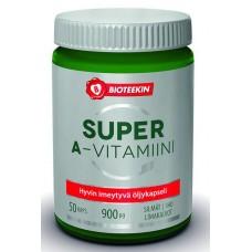 Bioteekin Super A-vitamiini 50 kps.