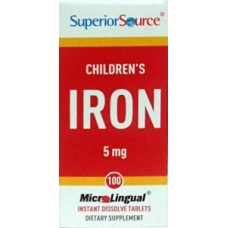 Children's Iron MicroLingual 5mg 100tbl Futmed