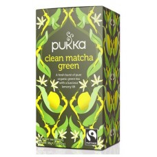 Pukka Clean Matcha Green tea 20pss