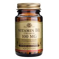 B1-vitamiini 100 mg 100kps