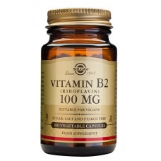 B2-vitamiini 100 mg 100 kaps Solgar