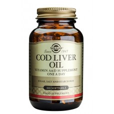 Norwegian Cod Liver Oil 100 kaps.