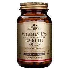 D3-vitamiini 55mcg Solgar 100kps