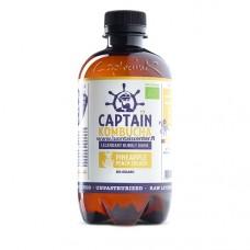 Kompucha Captain Ananas-persikka luomu 400ml