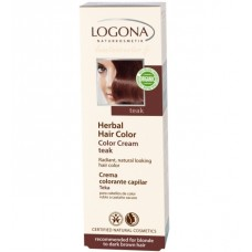 Hennaväri voidemainen Color Cream Teak 150ml Logona