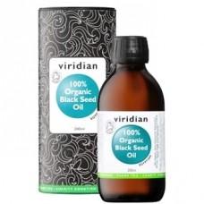 Viridian Mustakuminaöljy 200ml