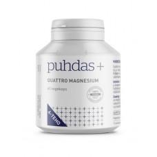 Puhdas+ Quattro Magnesium 60kps