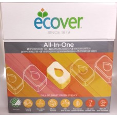 Ecover Konetiskitabletti All-In-One 25tbl