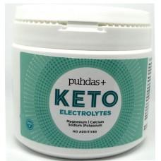 Puhdas+ KETO Elektrolyyttijauhe 200g